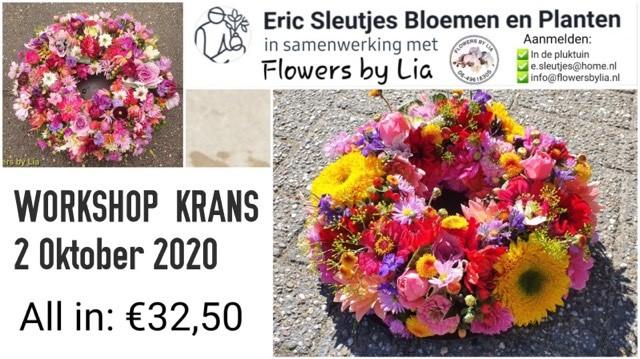 Workshop bloemschikken!